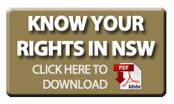 Know Your Rights in NSW 2016