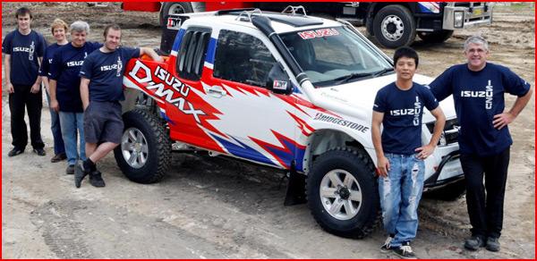 Isuzu Trucks South Africa. isuzu, ute, dakar, rally,