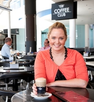 The Coffee Club Property and Franchise Development Coordinator Amie Windrim